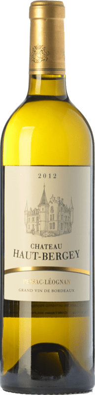 39,95 € Free Shipping | White wine Château Haut-Bergey Blanc Crianza A.O.C. Pessac-Léognan Bordeaux France Sémillon, Sauvignon Bottle 75 cl