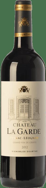 33,95 € Free Shipping | Red wine Château La Garde Crianza A.O.C. Pessac-Léognan Bordeaux France Merlot, Cabernet Sauvignon Bottle 75 cl