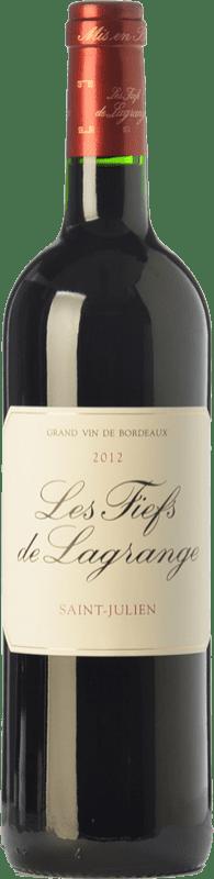 39,95 € Envoi gratuit | Vin rouge Château Lagrange Les Fiefs Crianza A.O.C. Saint-Julien Bordeaux France Merlot, Cabernet Sauvignon, Petit Verdot Bouteille 75 cl