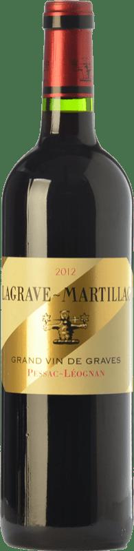 24,95 € Envío gratis | Vino tinto Château Latour-Martillac Lagrave-Martillac Crianza A.O.C. Pessac-Léognan Burdeos Francia Merlot, Cabernet Sauvignon Botella 75 cl