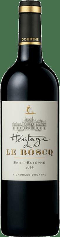 39,95 € Free Shipping | Red wine Château Le Boscq A.O.C. Saint-Estèphe Bordeaux France Merlot, Cabernet Sauvignon, Petit Verdot Bottle 75 cl