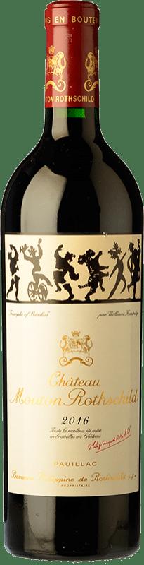 841,95 € | Red wine Château Mouton-Rothschild Reserva A.O.C. Pauillac Bordeaux France Merlot, Cabernet Sauvignon, Cabernet Franc Bottle 75 cl