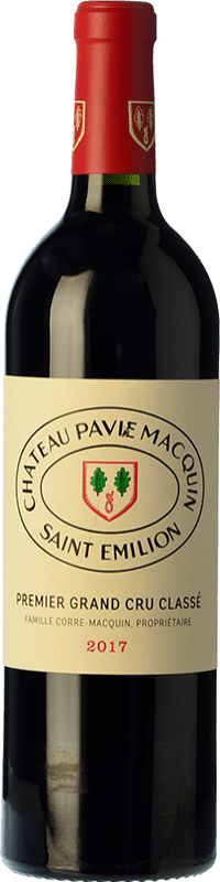 114,95 € Free Shipping | Red wine Château Pavie-Macquin A.O.C. Saint-Émilion Grand Cru Bordeaux France Merlot, Cabernet Sauvignon, Cabernet Franc Bottle 75 cl