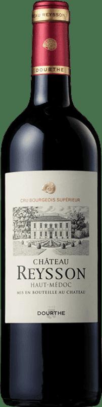 16,95 € Free Shipping | Red wine Château Reysson Crianza A.O.C. Haut-Médoc Bordeaux France Merlot, Cabernet Franc Bottle 75 cl