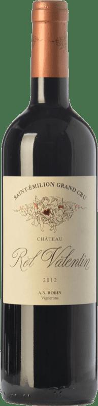 49,95 € Free Shipping | Red wine Château Rol Valentin Crianza A.O.C. Saint-Émilion Grand Cru Bordeaux France Merlot, Cabernet Franc Bottle 75 cl