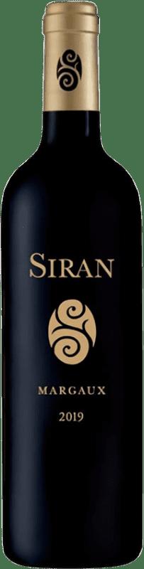 39,95 € Free Shipping | Red wine Château Siran Crianza A.O.C. Margaux Bordeaux France Merlot, Cabernet Sauvignon, Cabernet Franc, Petit Verdot Bottle 75 cl