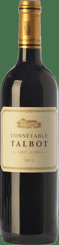 36,95 € Free Shipping | Red wine Château Talbot Connétable Crianza A.O.C. Saint-Julien Bordeaux France Merlot, Cabernet Sauvignon, Petit Verdot Bottle 75 cl