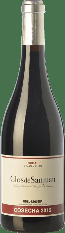 19,95 € 免费送货 | 红酒 Valsangiacomo Clos de Sanjuan Crianza D.O. Utiel-Requena 巴伦西亚社区 西班牙 Bobal 瓶子 75 cl