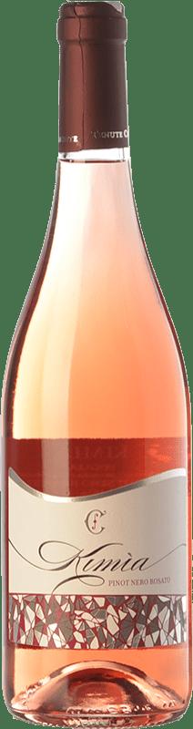 16,95 € Free Shipping | Rosé wine Chiaromonte Pinot Nero Rosato Kimìa I.G.T. Puglia Puglia Italy Pinot Black Bottle 75 cl