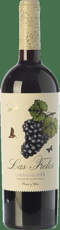 12,95 € 免费送货 | 红酒 Chivite Las Fieles Joven D.O. Navarra 纳瓦拉 西班牙 Grenache 瓶子 75 cl