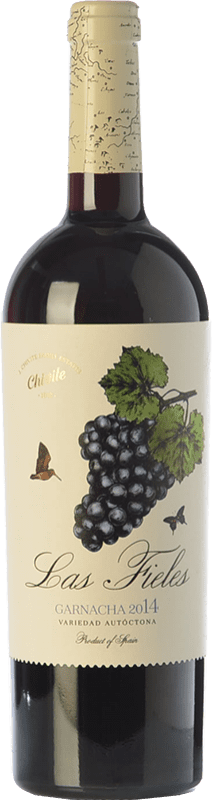 12,95 € Envoi gratuit | Vin rouge Chivite Las Fieles Joven D.O. Navarra Navarre Espagne Grenache Bouteille 75 cl