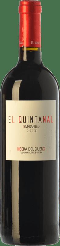 8,95 € Free Shipping | Red wine Cillar de Silos El Quintanal Joven D.O. Ribera del Duero Castilla y León Spain Tempranillo Bottle 75 cl
