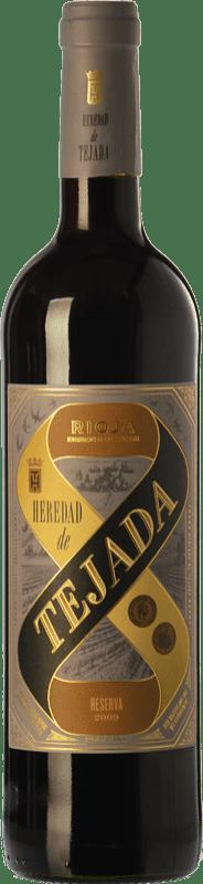 7,95 € Free Shipping | Red wine Classica Heredad de Tejada Reserva D.O.Ca. Rioja The Rioja Spain Tempranillo Bottle 75 cl