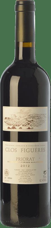 58,95 € | Red wine Clos Figueras Clos Figueres Crianza D.O.Ca. Priorat Catalonia Spain Syrah, Cabernet Sauvignon, Monastrell, Carignan Bottle 75 cl