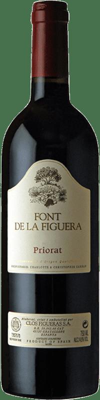28,95 € Envoi gratuit | Vin rouge Clos Figueras Font de la Figuera Crianza D.O.Ca. Priorat Catalogne Espagne Syrah, Grenache, Cabernet Sauvignon, Carignan Bouteille 75 cl