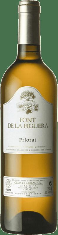 26,95 € Envoi gratuit | Vin blanc Clos Figueras Font de la Figuera Blanc Crianza D.O.Ca. Priorat Catalogne Espagne Grenache Blanc, Viognier, Chenin Blanc Bouteille 75 cl