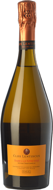 41,95 € Free Shipping | White wine Clos Lentiscus Xarel·lo Xpressió Crianza D.O. Penedès Catalonia Spain Xarel·lo, Xarel·lo Vermell Bottle 75 cl