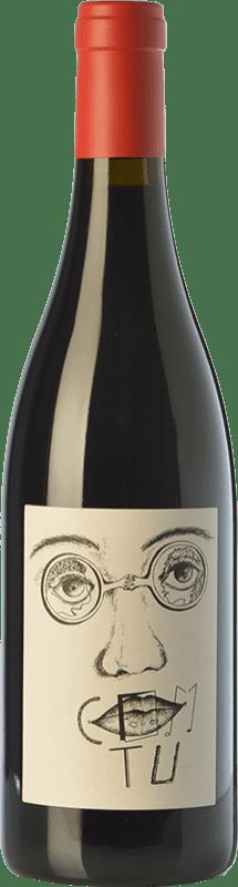 44,95 € Envío gratis | Vino tinto Clos Mogador Com Tu Crianza D.O. Montsant Cataluña España Garnacha Botella 75 cl