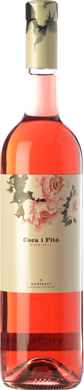 18,95 € Free Shipping | Rosé wine Coca i Fitó Rosa D.O. Montsant Catalonia Spain Syrah Bottle 75 cl