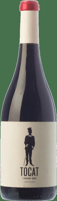 83,95 € Envío gratis | Vino tinto Coca i Fitó Tocat i Posat Crianza D.O. Empordà Cataluña España Garnacha, Cariñena Botella Mágnum 1,5 L