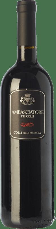 18,95 € Free Shipping | Red wine Colli della Murgia Ambasciatore dei Colli I.G.T. Puglia Puglia Italy Cabernet Sauvignon, Aglianico Bottle 75 cl