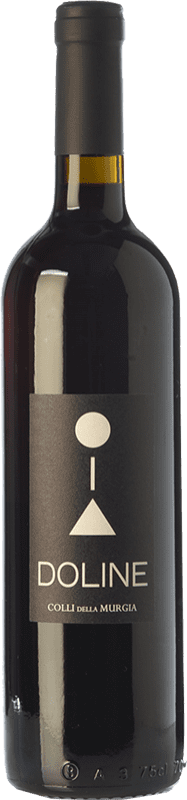 8,95 € Free Shipping | Red wine Colli della Murgia Doline Rosso I.G.T. Puglia Puglia Italy Cabernet Sauvignon, Primitivo Bottle 75 cl