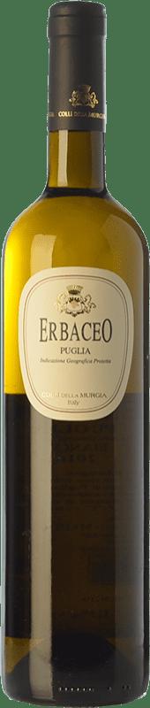 12,95 € Free Shipping | White wine Colli della Murgia Erbaceo I.G.T. Puglia Puglia Italy Greco, Fiano di Puglia Bottle 75 cl