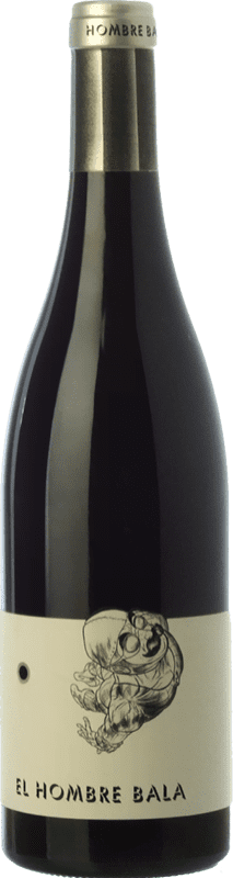 17,95 € Free Shipping | Red wine Comando G El Hombre Bala Joven D.O. Vinos de Madrid Madrid's community Spain Grenache Magnum Bottle 1,5 L