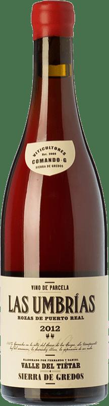 红酒 Comando G Las Umbrías Crianza D.O. Vinos de Madrid 马德里社区 西班牙 Grenache 瓶子 75 cl