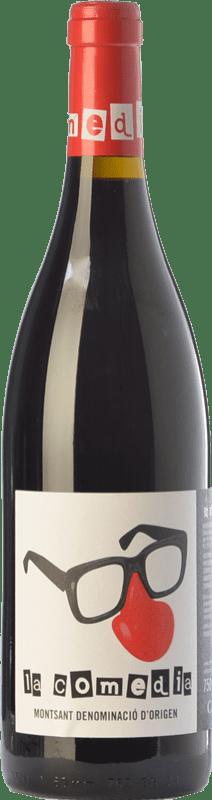 9,95 € Free Shipping | Red wine Comunica La Comedia Joven D.O. Montsant Catalonia Spain Syrah, Grenache, Carignan Bottle 75 cl