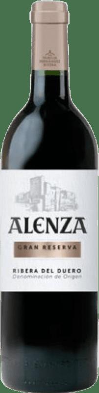 47,95 € Envío gratis | Vino tinto Condado de Haza Alenza Gran Reserva D.O. Ribera del Duero Castilla y León España Tempranillo Botella 75 cl