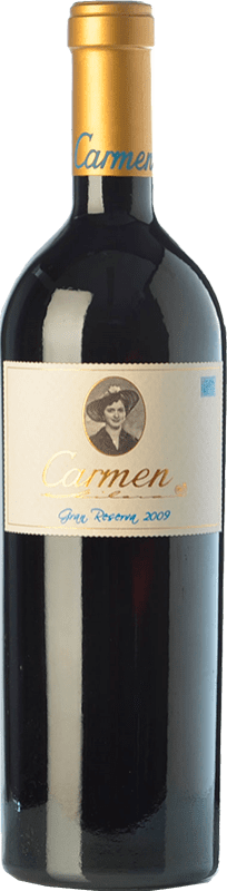 89,95 € | Red wine Contador Benjamín Romeo Carmen Gran Reserva 2009 D.O.Ca. Rioja The Rioja Spain Tempranillo, Grenache, Graciano Bottle 75 cl