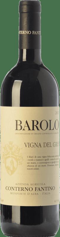 78,95 € | Red wine Conterno Fantino Ginestra V. del Gris D.O.C.G. Barolo Piemonte Italy Nebbiolo Bottle 75 cl