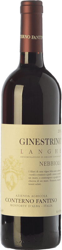 23,95 € | Red wine Conterno Fantino Ginestrino D.O.C. Langhe Piemonte Italy Nebbiolo Bottle 75 cl