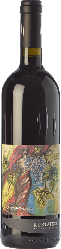 29,95 € Free Shipping | Red wine Cortaccia Soma D.O.C. Alto Adige Trentino-Alto Adige Italy Merlot, Cabernet Franc Bottle 75 cl