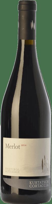 11,95 € Free Shipping | Red wine Cortaccia D.O.C. Alto Adige Trentino-Alto Adige Italy Merlot Bottle 75 cl