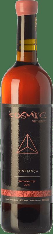 23,95 € | White wine Còsmic Confiança D.O. Empordà Catalonia Spain Grenache Grey Bottle 75 cl