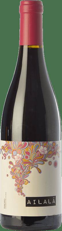 12,95 € Free Shipping | Red wine Coto de Gomariz Ailalá Roble D.O. Ribeiro Galicia Spain Sousón, Caíño Black, Ferrol Bottle 75 cl