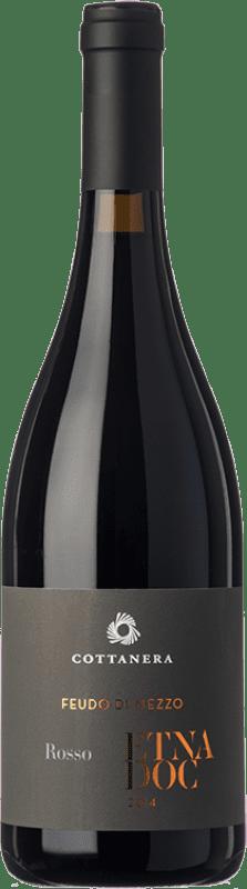 29,95 € | Red wine Cottanera Rosso D.O.C. Etna Sicily Italy Nerello Mascalese, Nerello Cappuccio Bottle 75 cl