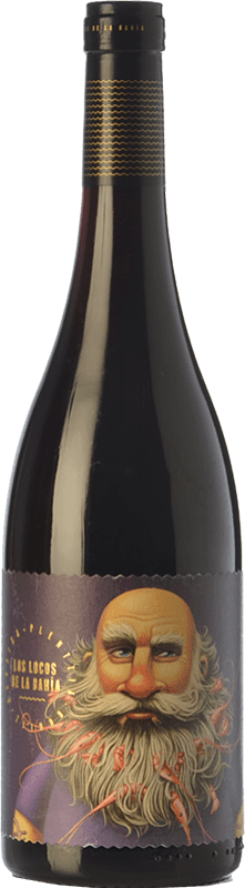 12,95 € | Red wine Crusoe Treasure Los Locos de la Bahia Temprus Joven Spain Tempranillo Bottle 75 cl