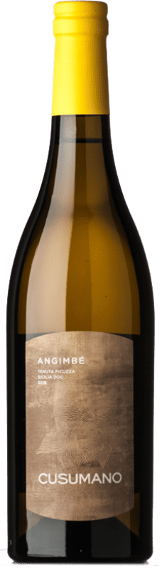 16,95 € Envío gratis | Vino blanco Cusumano Angimbé I.G.T. Terre Siciliane Sicilia Italia Chardonnay, Insolia Botella 75 cl