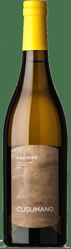 16,95 € Free Shipping | White wine Cusumano Angimbé I.G.T. Terre Siciliane Sicily Italy Chardonnay, Insolia Bottle 75 cl