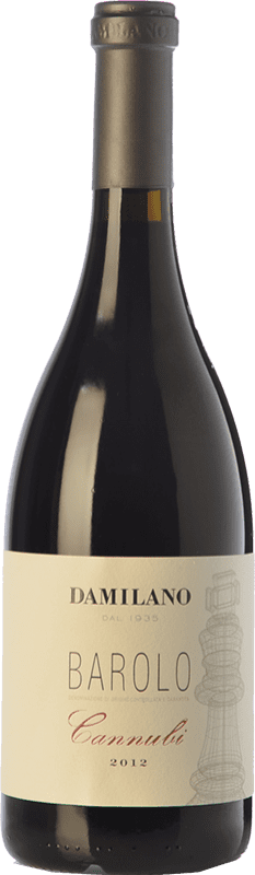 113,95 € Free Shipping | Red wine Damilano Cannubi D.O.C.G. Barolo Piemonte Italy Nebbiolo Bottle 75 cl