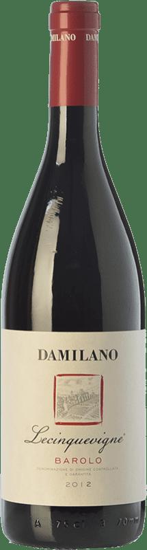 32,95 € Free Shipping | Red wine Damilano Le Cinque Vigne D.O.C.G. Barolo Piemonte Italy Nebbiolo Bottle 75 cl
