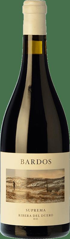 39,95 € Envío gratis | Vino tinto Bardos Suprema 30 Meses Reserva D.O. Ribera del Duero Castilla y León España Tempranillo Botella 75 cl