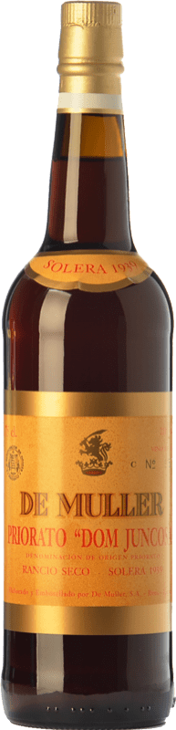 38,95 € 免费送货   强化酒 De Muller Dom Juncosa Solera 1939 D.O.Ca. Priorat 加泰罗尼亚 西班牙 Grenache, Grenache White, Muscat of Alexandria 瓶子 75 cl
