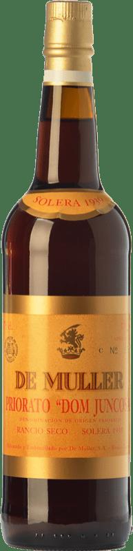 38,95 € Free Shipping | Fortified wine De Muller Dom Juncosa Solera 1939 D.O.Ca. Priorat Catalonia Spain Grenache, Grenache White, Muscat of Alexandria Bottle 75 cl