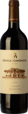 21,95 € Free Shipping | Red wine Dehesa de los Canónigos 15 Meses Crianza D.O. Ribera del Duero Castilla y León Spain Tempranillo, Cabernet Sauvignon, Albillo Bottle 75 cl