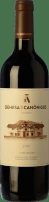 21,95 € Envío gratis | Vino tinto Dehesa de los Canónigos 15 Meses Crianza D.O. Ribera del Duero Castilla y León España Tempranillo, Cabernet Sauvignon, Albillo Botella 75 cl