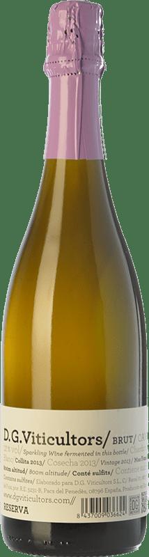 15,95 € Envío gratis | Espumoso blanco DG Brut Reserva D.O. Penedès Cataluña España Chardonnay Botella 75 cl